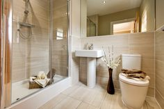 Gorgeous, modern bathrooms at our luxurious new homes: http://bit.ly/17H9fxF v
