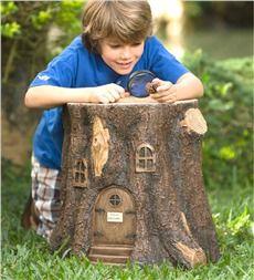 $100 Fairy Tree Stump Stool