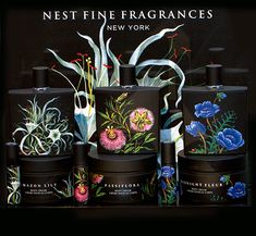 Nest Perfumes ~ #fragrance #packaging