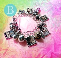 Suicide Silence Mitch Lucker  Charm Bracelet by VoDoFad on Etsy, $16.00