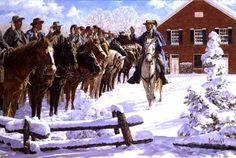 TAKING THE OATH (Artist Proof) by Bradley Schmehl. In January 1863, John S. Mosby enlisted men to join his partisan rangers. He administered the oath to his recruits at the Mt. Zion Church in Aldie, Virginia. That church is still standing today.