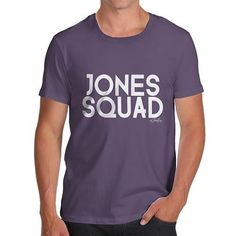 Personalised Surname Squad Men's T-Shirt