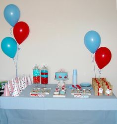 Birthday Party - Little red car! Car Birthday, Little Red, 3, First Birthdays, Parties, Cars, Ideas, Strollers, Meet