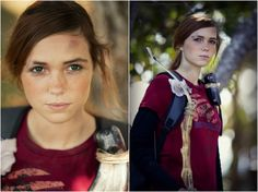Ellie from the Last of us Cosplay