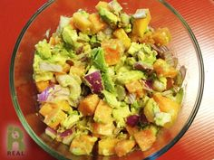 Papaya Avocado Salsa is colorful and refreshing. It can be served with crackers or tossed with a salad in place of the dressing. Ingredients: 1 ripe medium avocado, peeled, pitted and diced 1/2 rip...