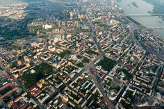 Novosibirsk is located on both banks of the Ob river. The central part of the city is located on the right bank.