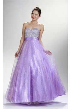Sparkly A Line Sweetheart Long Lilac Tulle Sequined Prom Dress Lace Up Back Lilac Prom Dresses, Prom Dresses 2017, Formal Dresses, Prom Outfits, Designer Prom Dresses, Dress Lace, Homecoming, Bridesmaids, Ball Gowns