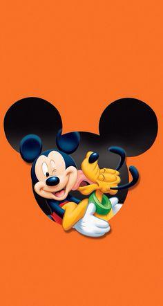Mickey Mouse and Pluto Disney Cartoon Wallpaper Pluto Disney, Walt Disney, Disney Fun, Disney Pixar, Disney Micky Maus, Disney Mouse, Mickey Mouse And Friends, Mickey Minnie Mouse, Mickey Mouse Wallpaper