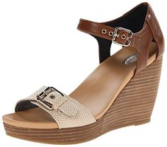 84ef9363bd53 Coconuts by Matisse Womens Metro Faux Leather T-Strap Wedge Sandals ...