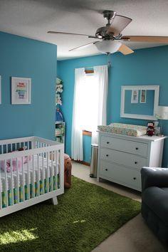 Bright and Modern Nursery