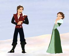 Merry Christmas everyone! Here's more Tangled fan art! Disney Wiki, Disney Art, Disney Movies, Walt Disney, Disney Characters, Fictional Characters, Disney Tangled, Disney Princess, Rapunzel And Eugene