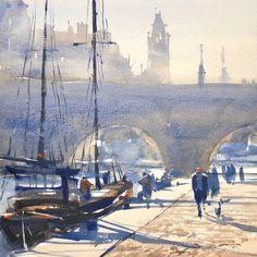 "Gary Tucker, ""Along the Seine"""