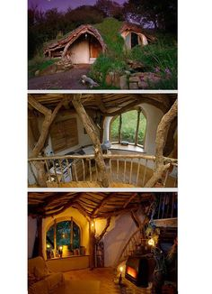 14 Real Life Fairy Tale Houses That Will Make You Believe Again.  I can be a hobbit? lol