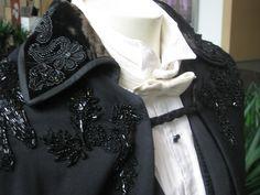 Tumblr - detail, Phantom's cape and evening shirt.
