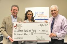 Jefferson Council on Aging - New Orleans, LA - Donation from Gregory Ricks and Associates - Financial Planner - Financial Advisor - 401k & Retirement - 2013