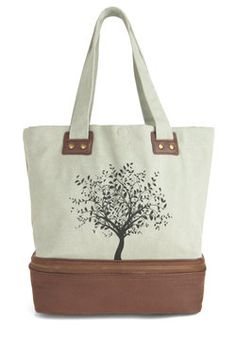 Leaf Your Things With Me Bag, #ModCloth