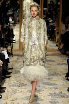 Marchesa Fall 2012 Ready-to-Wear Fashion Show - Romee Strijd
