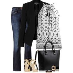 """""""Casually Polished"""" by lisa-holt on Polyvore"""