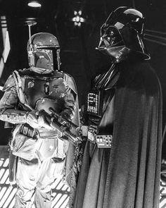 My favorite bad guys in one Picture ✨ Who is Your favorite ?  #BobaFett #DarthVader #Starwars #theempirestrikesback