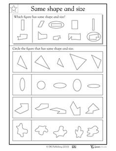 3rd grade Math Worksheets: 2 pairs of feet | Shapes worksheets ...