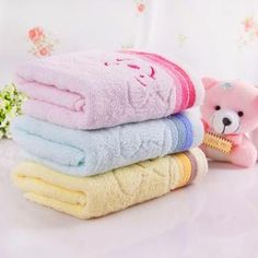 Bear Embroidered Face Towel from #YesStyle <3 Yulu YesStyle.com