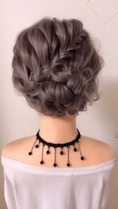 Updo Hairstyles Tutorials, Bun Hairstyles For Long Hair, Girl Hairstyles, Weave Hairstyles, Holiday Hairstyles, Party Hairstyles, Bridesmaid Updo Hairstyles, Hairstyle Braid, Long Hairstyles