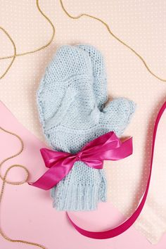 DIY Handschuhe Selber Machen: Schnelles DIY Weihnachtsgeschenk