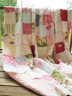 Queen Memory Quilt, Made with your Clothing, ALL NATURAL, fresh modern handmade heirloom