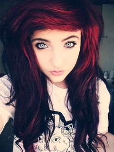This is Bethany Pitters. She is 17 and is looking but thats last on her list. She works at the local DJ station and you may know her. She loves to sing and rap, and she can play the bass guitar. She is also bullied alot for veing a nerdy emo fangirl.