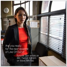 Line of Duty continues Wednesday night at 9pm on BBC Two....