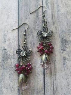 Check out these flower earrings in my Etsy shop https://www.etsy.com/listing/516377247/flower-dangle-earrings-gifts-for-her