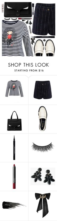 """Street style"" by simona-altobelli ❤ liked on Polyvore featuring Nine West, Givenchy, Battington, NARS Cosmetics, J.Crew, Urban Decay and Oscar de la Renta"