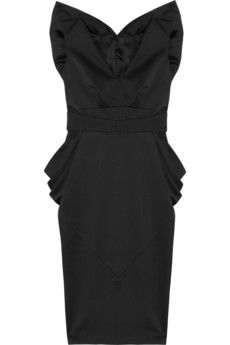 L'wren Scott Bow Back cocktail frock simply perfect LBD Designer Clothes Sale, Discount Designer Clothes, Satin Dresses, Ball Dresses, Satin Cocktail Dress, Cocktail Dresses, Black Bridesmaids, Bridesmaid Dresses, L'wren Scott
