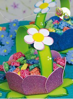 Decoraciones Infantiles Mariposas Y Flores Alaynas Party