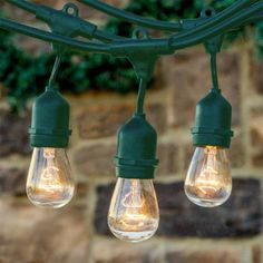 Feit Electric String Lights Beauteous How To Hang String Lights  Yards Lights And Backyard Decorating Inspiration