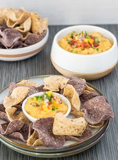 Vegan Queso with a Surprise Healthy Ingredient  |  Healthy Slow Cooking  |  V