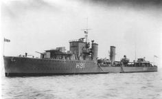HMS Bulldog (H91) was a B-class destroyer built for the Royal Navy from 1929 to 1931. Initially assigned to the Mediterranean Fleet, she was transferred to the Home Fleet in 1936.