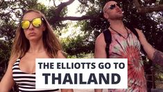 The Elliotts go to Thailand. Here's 29 hours of travel wrapped up into 2 minutes of vlog: the flights, the flu bugs, & the fantastic ending to a long ass day. Thailand Adventure, Youtube, Youtubers, Youtube Movies