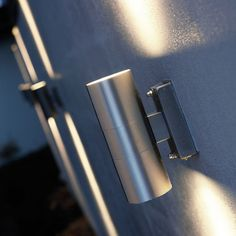 Nordlux Tin Twin Outdoor Wall Light - Stainless Steel