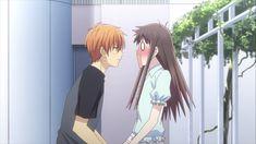 Kyo And Tohru, Yuki Sohma, Fruits Basket Manga, Mahal Kita, My Little Monster, Anime Family, Couple Illustration, Anime Screenshots, Cute Anime Pics