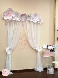 Resultado de imagen para decoracion con flores de papel gigantes