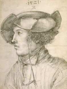 Portrait of a Young Man getty drawing 1521 - Google-Suche