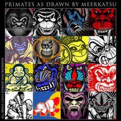 meerkatsu: Contest: Guess these primates