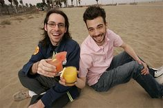 Martin Starr and Jay Baruchel are the coolest and funniest dorks ever. #hilarious #actors