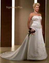 Private Label Signature Plus Wedding Dresses - Style 3342