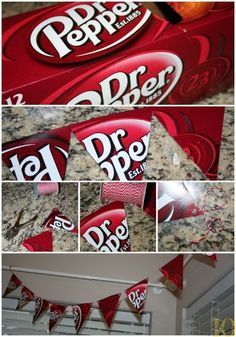 Dr Pepper Pendant Collage