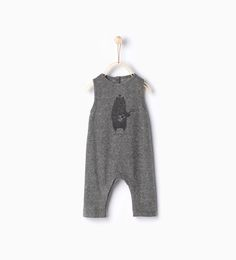 Bear romper suit - O