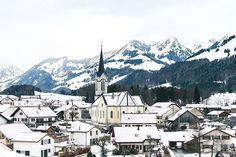 Overlooking Switzerland