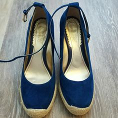 New Franco Sarto espadrilles New never been worn! 3.5' wedge Franco Sarto Shoes Espadrilles