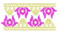 Border Embroidery Designs, Machine Embroidery Designs, Sewing, Flowers, Art, Art Background, Dressmaking, Couture, Stitching